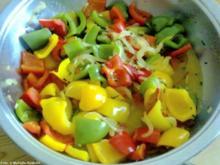 Scharfes Paprikagemüse - Rezept