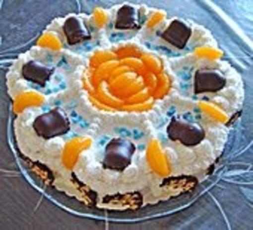 Mohrenkopf - Torte - Rezept