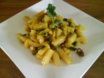 Vegetarisch - Kohlrabi-Curry - Rezept