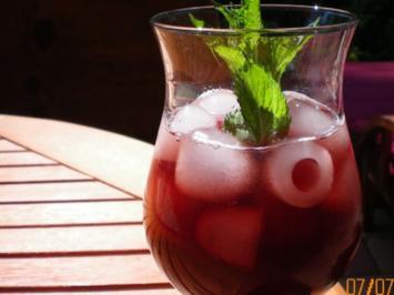 melone mit alkohol füllen