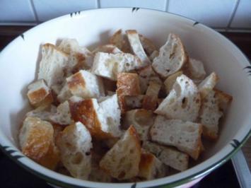 Kräuterbällchen mit gehobeltem Parmesan - Rezept