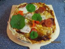 Fingerfood: Pizza mal vegetarisch - Rezept