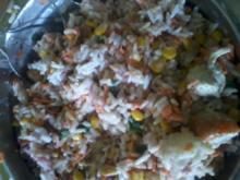 suessebienes´s Reissalat mit  himbeer dressing - Rezept
