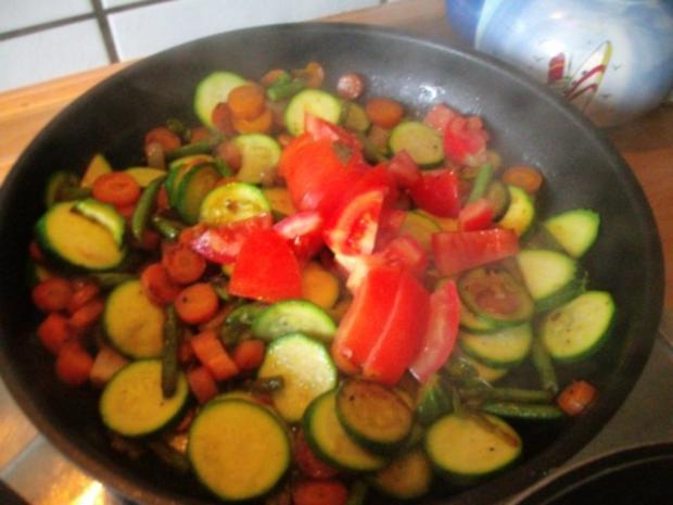 Limburger Gemüsepfanne - Rezept - Bild Nr. 10