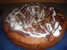 Schoko-Birnen-Kuchen - Rezept