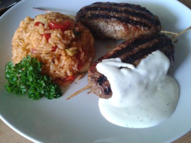 Kebab Spieß - Rezept