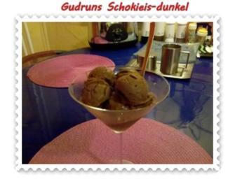 Eis: Schoki-Eis dunkel - Rezept