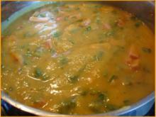 Möhren-Kartoffelsuppe mit Einlage - Rezept