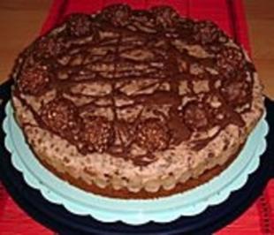 Rezept: Feine Rocher - Torte