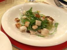 Warmer Salat vom kleinen Sepia mit Tomatillo (Allegra Curtis) - Rezept