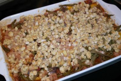 Lamm-Gulasch mit Brot-Kruste - Rezept