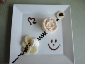 Bananen Eis - in 3 min fertig !!! - Rezept