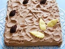 Cremige Schoko - Mint - Torte - Rezept