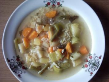Gemüsesuppe aus der Türkei - Sebze Corbasi - Rezept