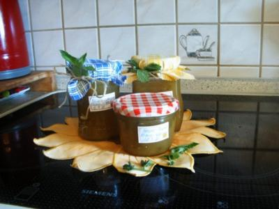 Ananas-Melonen-Apfel-Orangen--Marmelade - Rezept