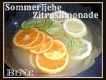 BiNe` S SOMMERLICHE ZITRUSLIMONADE - Rezept