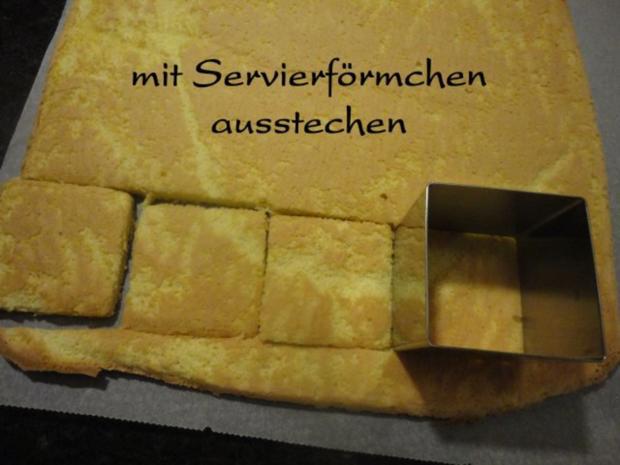 cremige Johannisbeer / Ribisel Würfel - Rezept - Bild Nr. 9