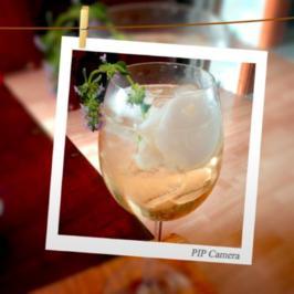 Prosecco mit Zitronensorbet - Rezept