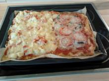 Pizza - Rezept