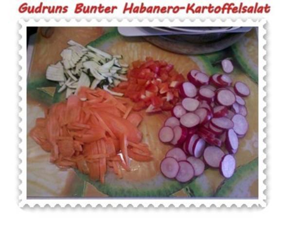 Salat: Bunter Habanero-Kartoffelsalat - Rezept - Bild Nr. 5