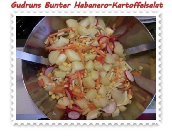 Salat: Bunter Habanero-Kartoffelsalat - Rezept - Bild Nr. 8