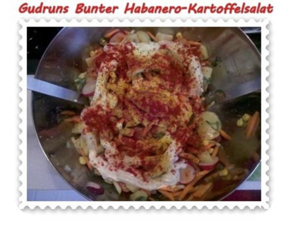 Salat: Bunter Habanero-Kartoffelsalat - Rezept - Bild Nr. 13