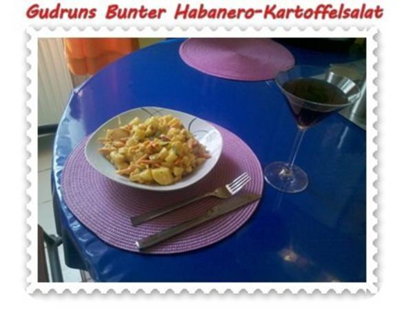 Salat: Bunter Habanero-Kartoffelsalat - Rezept - Bild Nr. 18