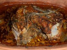 Lammkeule aus dem Römertopf - Rezept