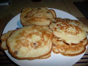 Apfelpfannkuchen mit oder ohne Rosinen. - Rezept