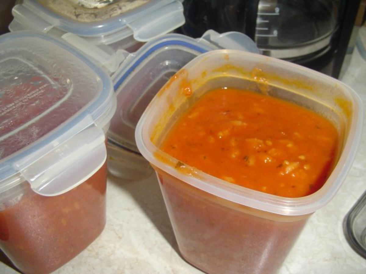 Tomatensuppe Wir hatten zuviel Tomaten - Rezept von Dreamcoon