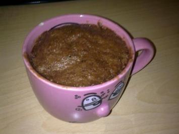 Tassen Brownie - Rezept