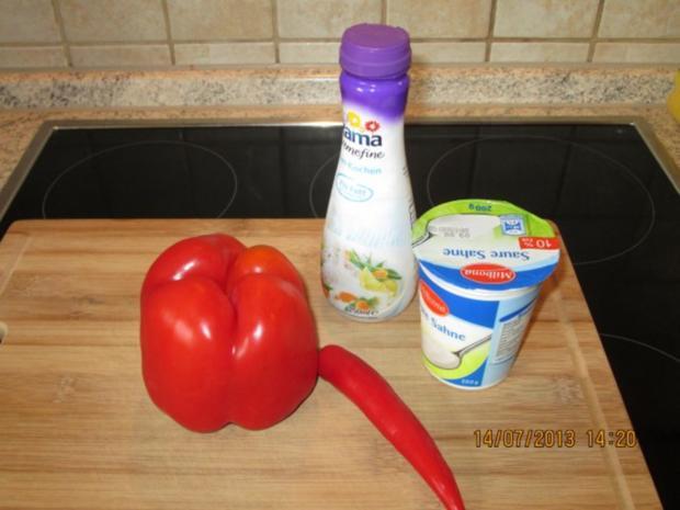 Kartoffelgratin mit Paprika und Chili - Rezept - Bild Nr. 3