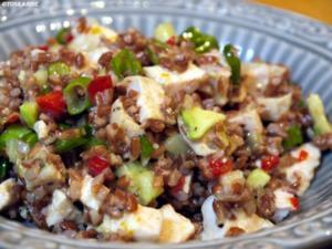 Reissalat mit Hühnchen und Avocado - Rezept