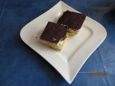 Kuchen:Kekstorte vom Blech - Rezept