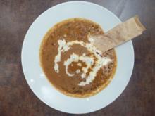 Dal Makhani mit Paratha Brot - Rezept