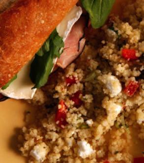 Mediterranean Couscous Salad - Rezept
