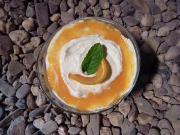 Orangen-Amaretto Biskuit - Rezept