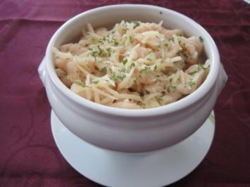 Überbackene Käsespätzle - Rezept