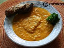 Karotten-Linsen Suppe - Rezept