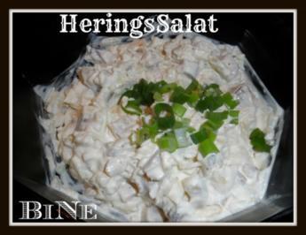 BiNe` S HERINGSSALAT - Rezept