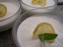 Dessert: Zitronen-Buttermilch-Dessert - Rezept