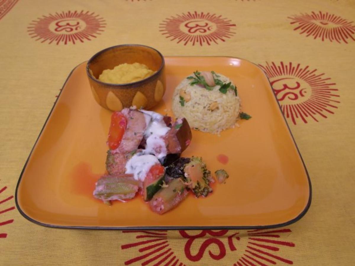 Bilder für Exotischer Yogi-Reis mit indischem Gemüse - Rezept