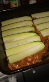 Zucchini Paprika Tomaten Lasagne - Rezept