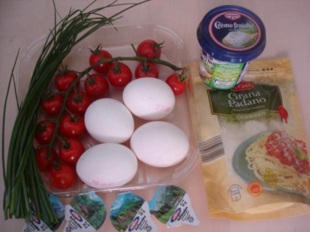 Tomaten-Omelett - Rezept - Bild Nr. 2