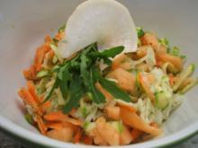 Salate: Frischer Rohkostsalat mit Buttermilchdressing - Rezept