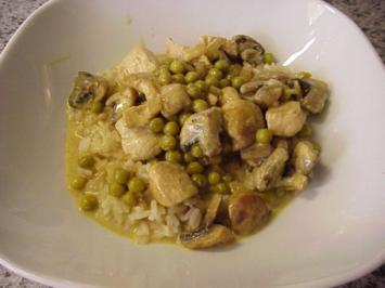 Puten-Kokos-Curry - Rezept