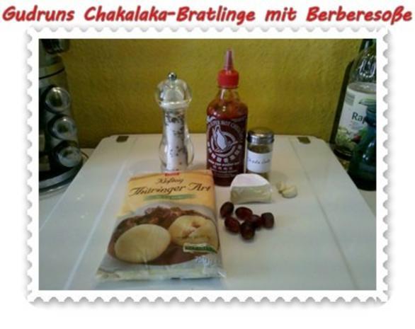 Kartoffeln: Chakalaka-Bratlinge mit Berbere-Tomatensoße - Rezept - Bild Nr. 2