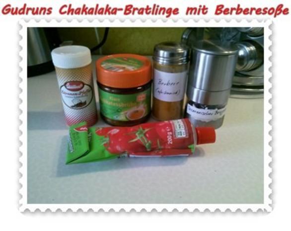 Kartoffeln: Chakalaka-Bratlinge mit Berbere-Tomatensoße - Rezept - Bild Nr. 4