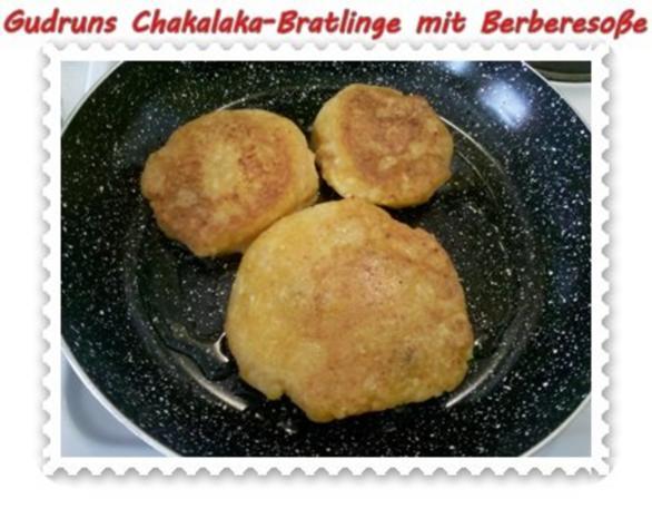 Kartoffeln: Chakalaka-Bratlinge mit Berbere-Tomatensoße - Rezept - Bild Nr. 9