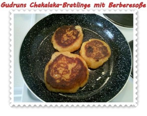 Kartoffeln: Chakalaka-Bratlinge mit Berbere-Tomatensoße - Rezept - Bild Nr. 10